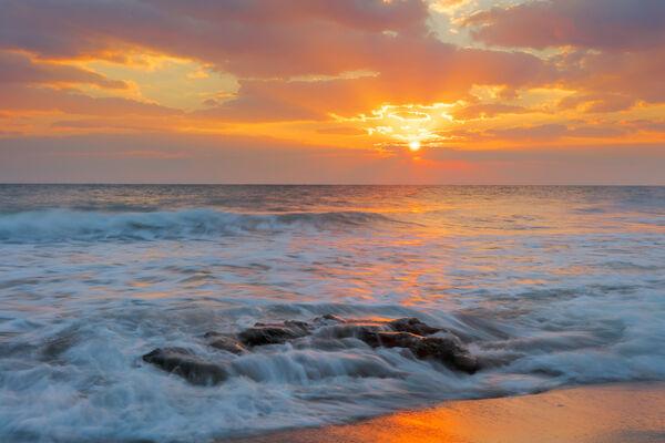 Florida, Coral Cove, sunrise, ocean, limited edition, photograph, fine art, landscape, coast