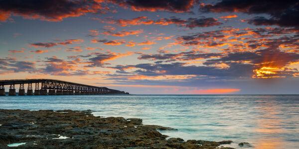 Florida, Florida Keys, Bahia Honda, sunrise, limited edition, photograph, fine art, landscape, coast