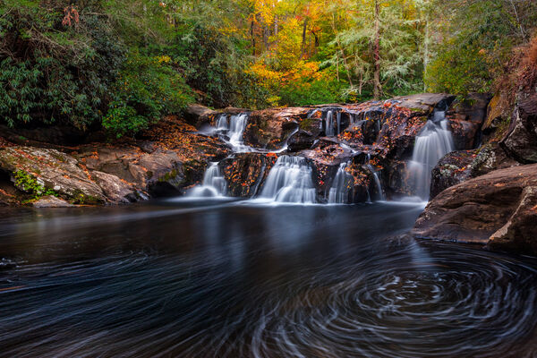 Creek Swirls