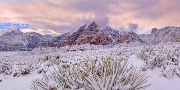 Red Rock Canyon Snowfall