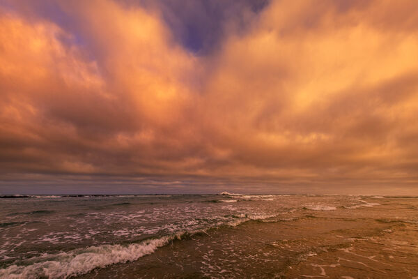 Oregon, Waldport, Beach, Sunrise, limited edition, photograph, fine art, landscape, coast