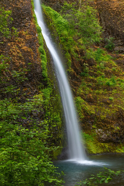 Oregon, Ponytail Falls, Waterfalls, Columbia River Gorge