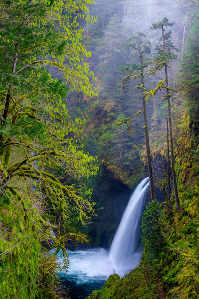 Oregon, Metlako Falls, Waterfall, Columbia River Gorge