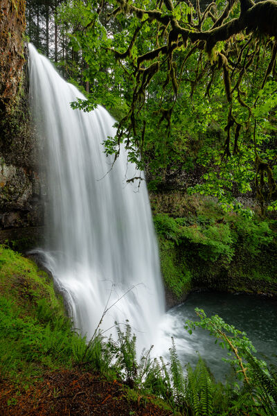 Oregon, South Falls, Silver Falls, Waterfall, limited edition, photograph, fine art, landscape