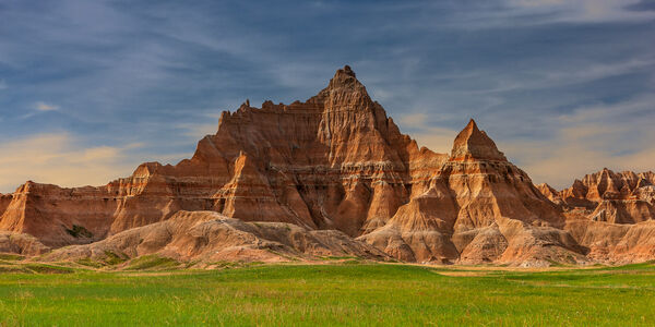 South Dakota, Badlands, National Park, Rock, Formations, Morning, limited edition, photograph, fine art, landscape