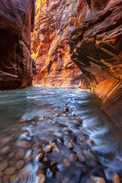 Utah, Zion Park, The Narrows, Canyon