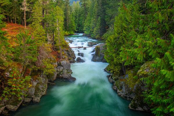 Aqua River Falls