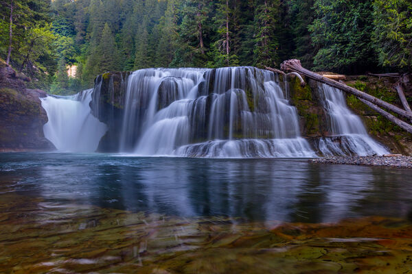 Washington, Lower Lewis River Falls, Waterfall, River, Lewis River, limited edition, photograph, fine art, landscape