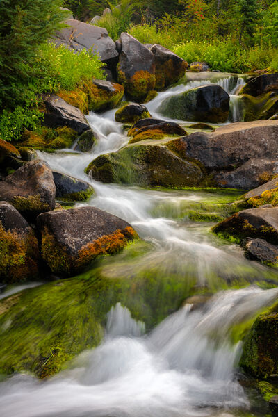 Washington, Mount Rainier, Paradise, Creek, limited edition, photograph, fine art, landscape