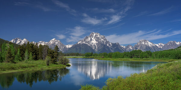 Wyoming, Tetons, Grand Tetons, Mount Moran, Oxbow Bend,, limited edition, photograph, fine art, landscape