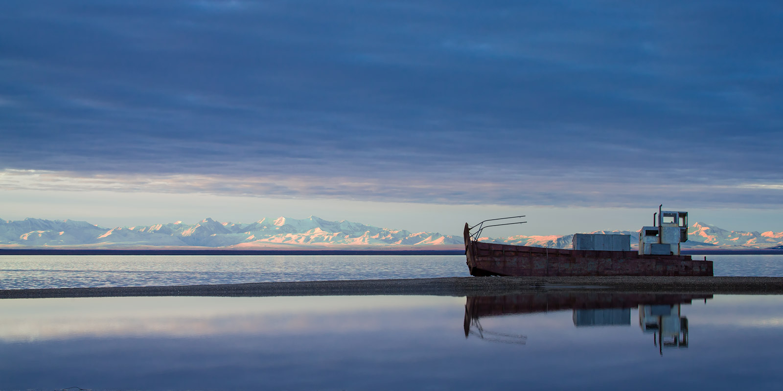 Alaska, Coast, Shipwreck, Kaktovik, photo
