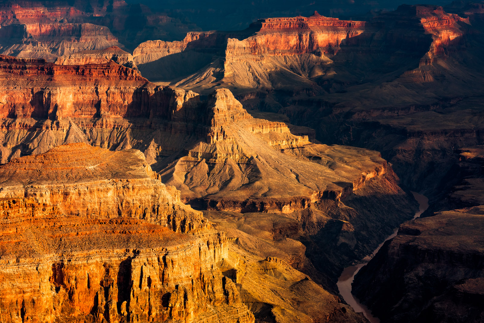 Arizona, Canyon, Grand Canyon, Colorado River, Pima Point, photo