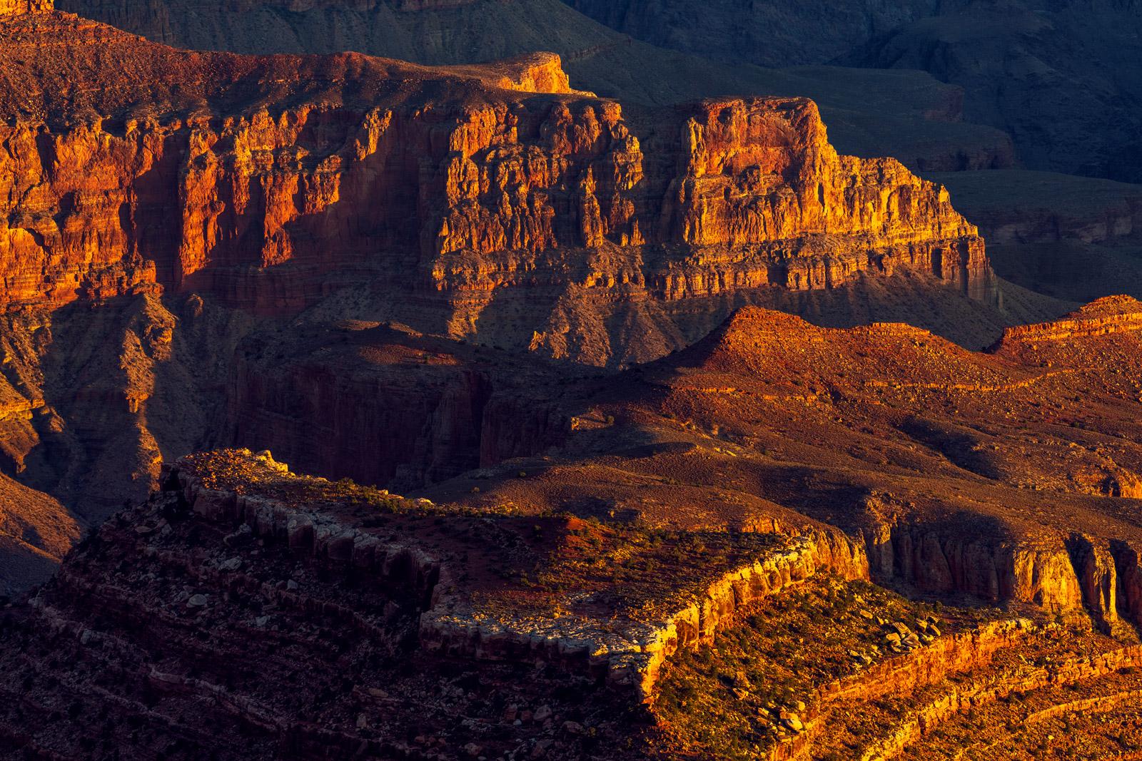 Arizona, Grand Canyon, National Park, Sunrise, Shadows, photo