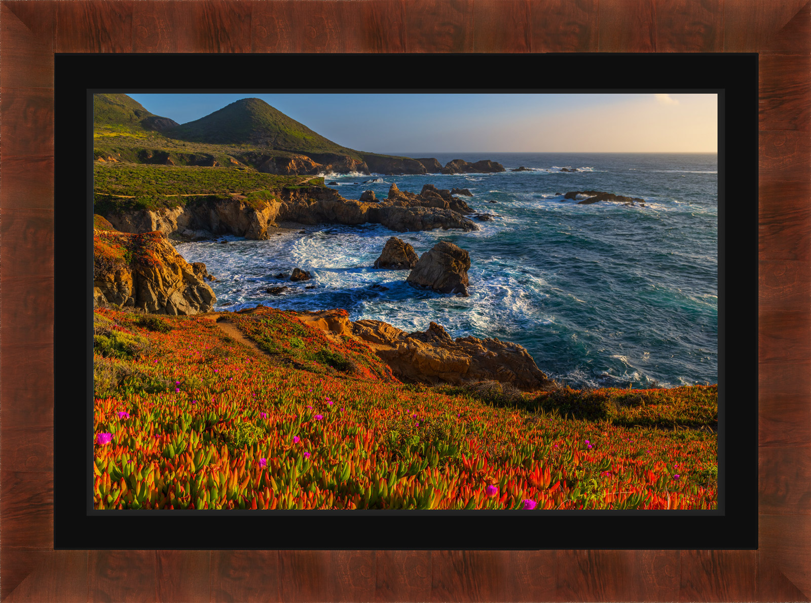 Exhibit Mounted Chromaluxe® Metal Print, Ready to Hang print preview