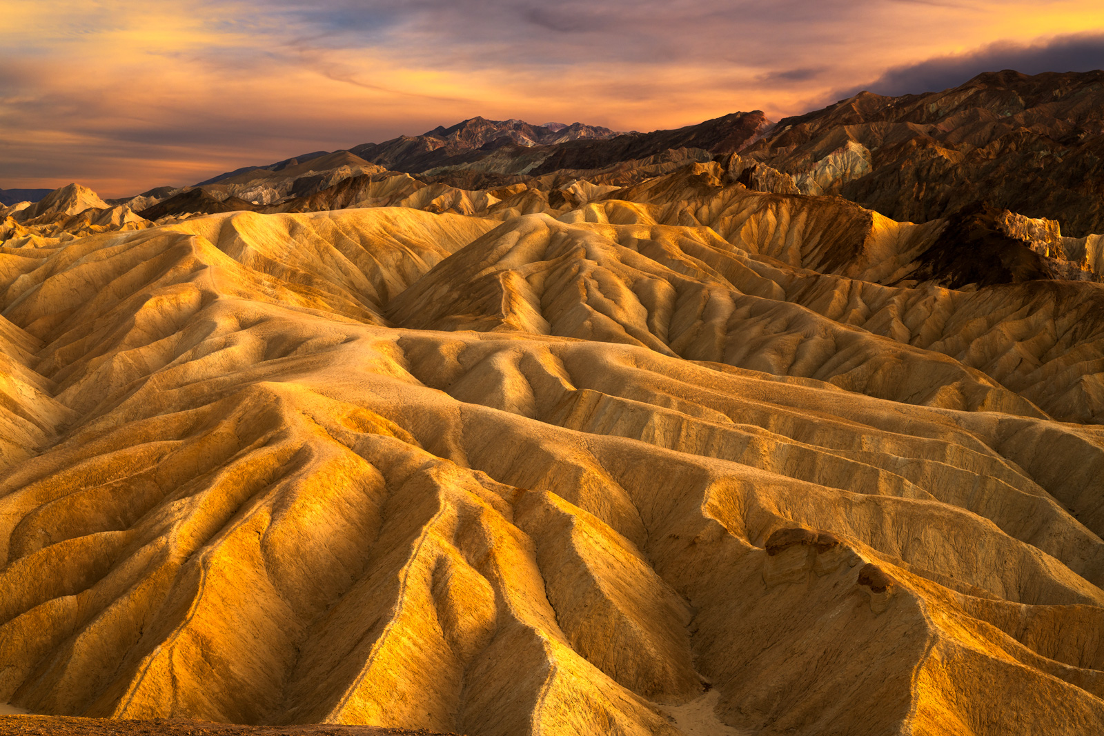 California, Death Valley, Zabriskie, Sand, Color, , limited edition, photograph, photo