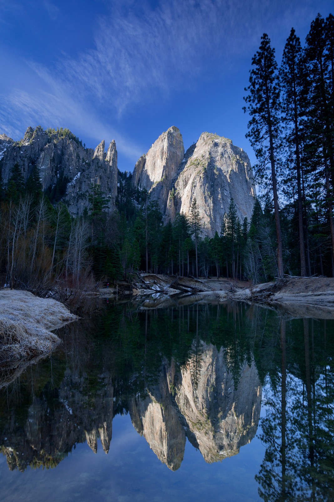 California, Yosemite, Cathedral Rocks, Reflection, limited edition, photograph, fine art, landscape, photo