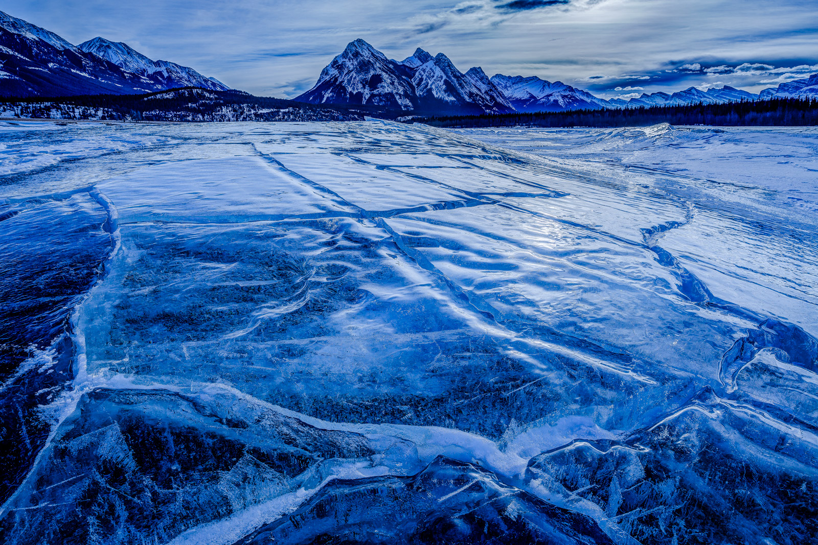 Alberta, Canada, Ice, Abraham Lake, Ice Bubbles, photo