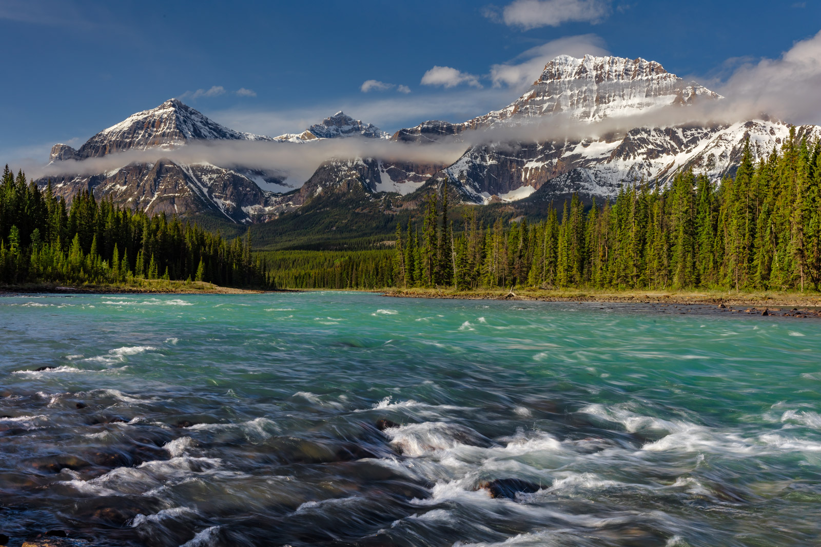 Canada, Canadian Rockies, Athabasca, River, limited edition, photograph, fine art, landscape, photo