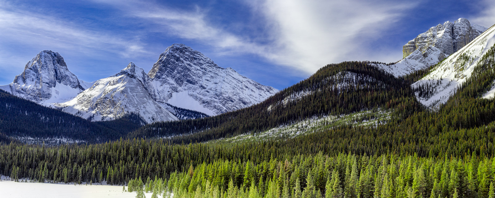 Alberta, Canada, Canadian, Rockies, Mountain, Winter, Snow covered, limited edition, photograph, fine art, landscape, photo