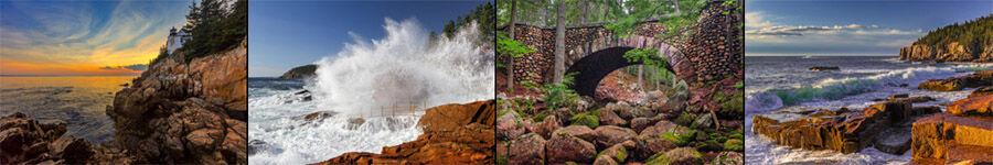 Acadia National Park Landscape Photos