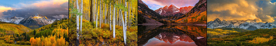 Colorado Fall Color Landscape Photography