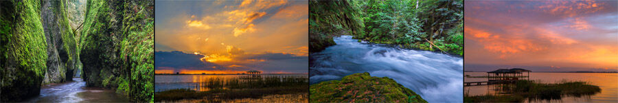 Lakes and Rivers Landscape Photography