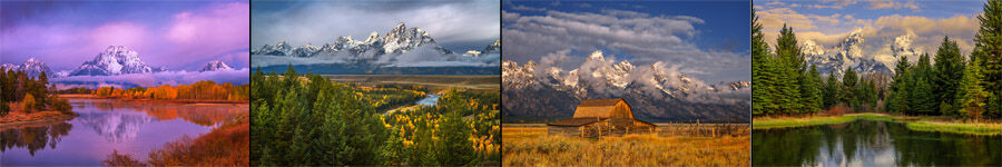 Grand Teton Fine Art Landscape Photography
