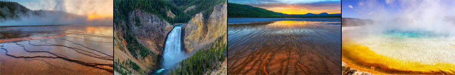 Yellowstone National Park Fine Art Landscape Photography