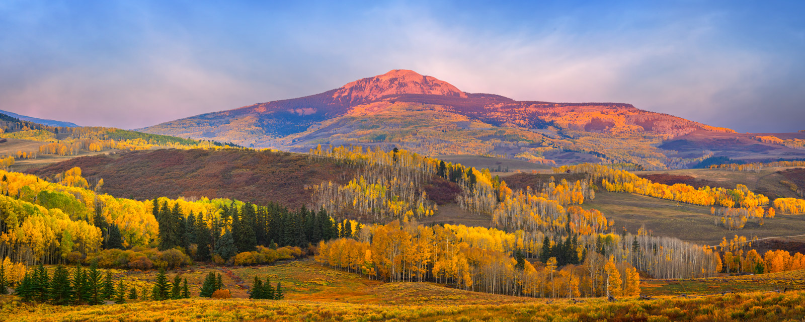 Colorado, Southwest Colorado, Fall Color, Mountains, back road, photo