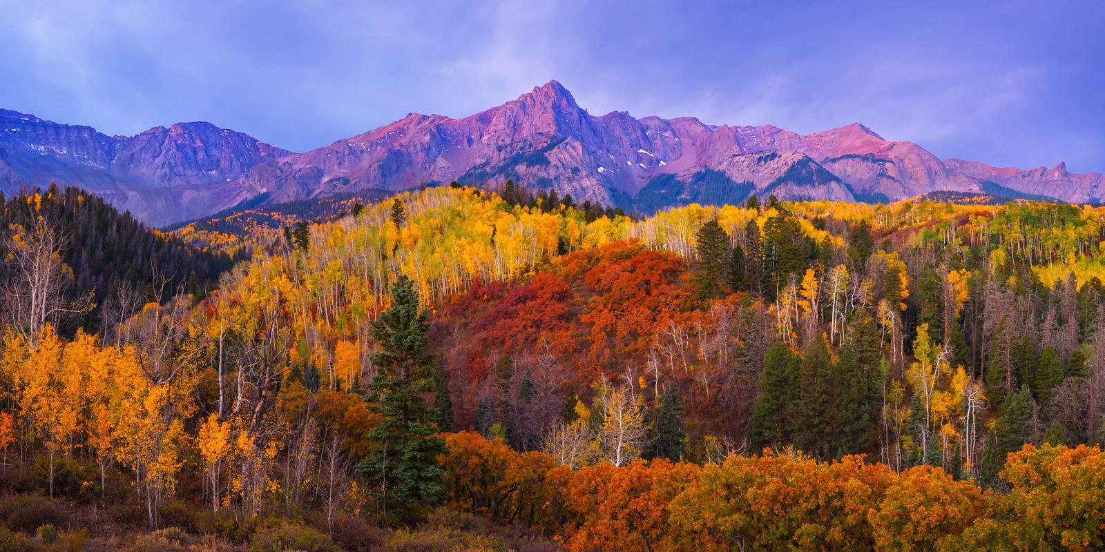 Colorado, Southwest Colorado, Fall, Fall Color, San Juan Mountains, Mountains,, photo