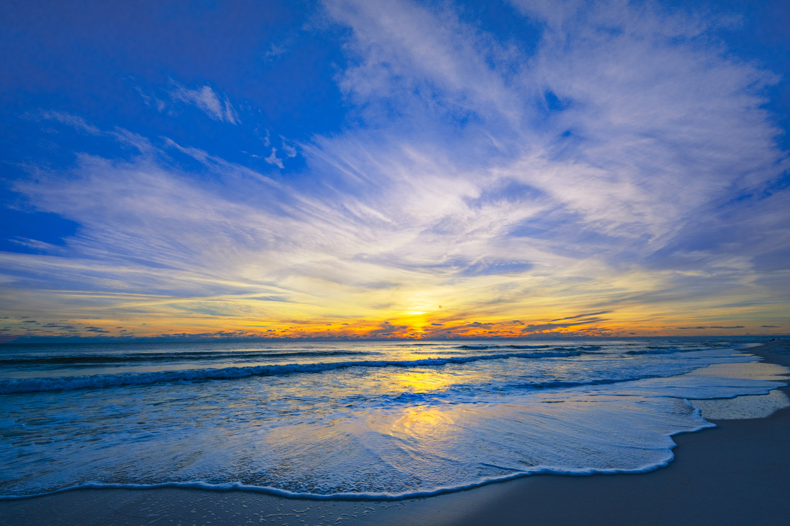 A Limited Edition, Fine Art photograph of sunset at Grayton Beach on the Florida panhandle. Available as a Fine Art print, Metal...