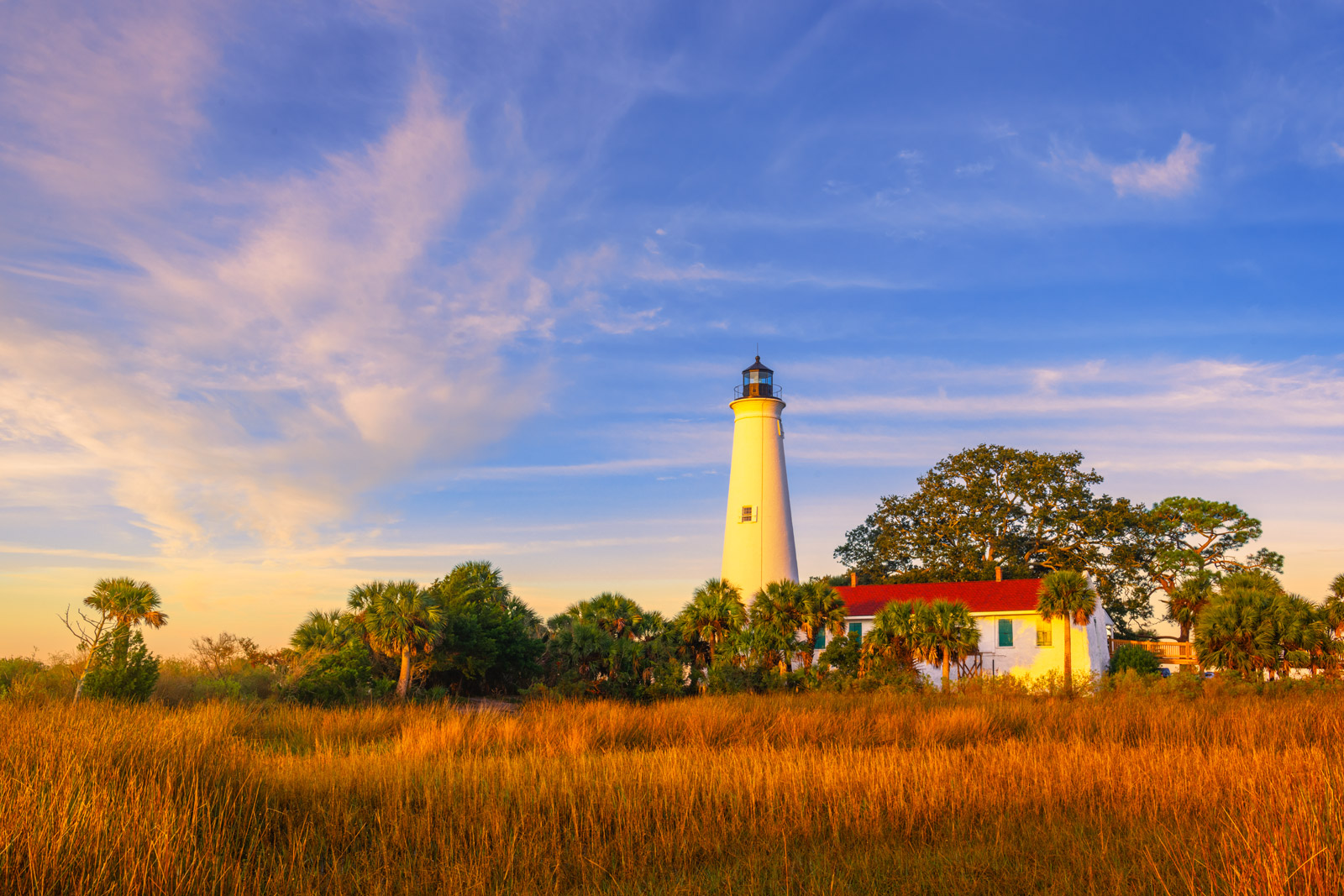 A Limited Edition, Fine Art photograph of sunrise on the St. Marks Lighthouse on the Florida panhandle. Available as a Fine Art...
