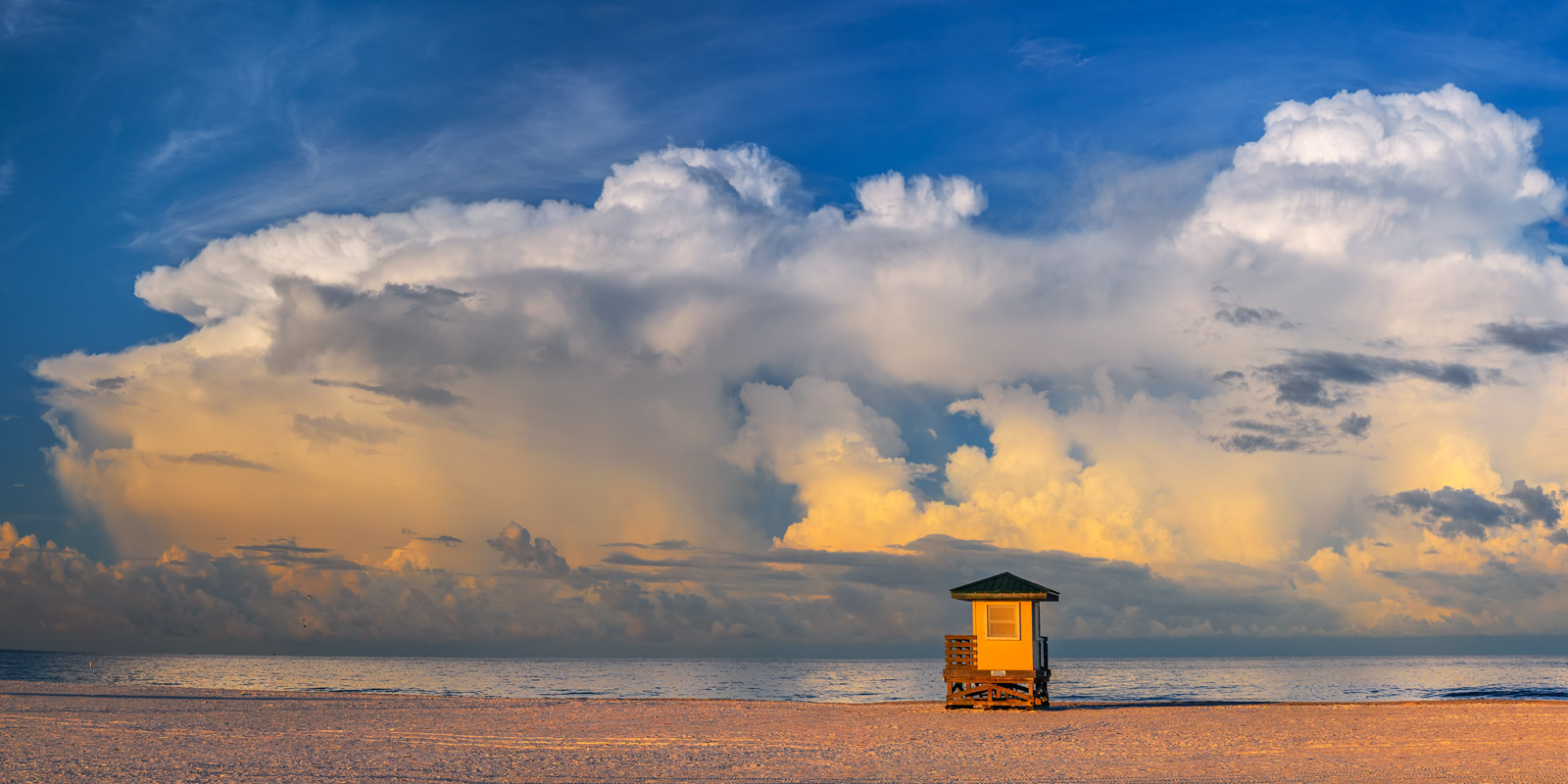 A Limited Edition, Fine Art photograph of offshore storm clouds on the Gulf Coast at Lido Key, Florida. Available as a Fine Art...