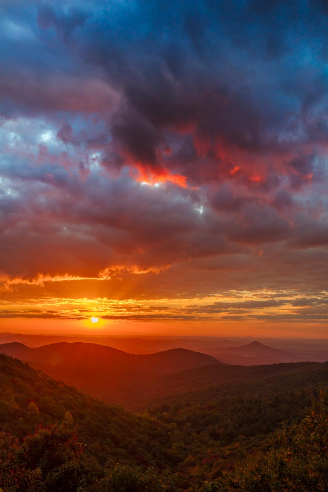 Georgia, Chatahoochee, Mountain, Sunrise, photo