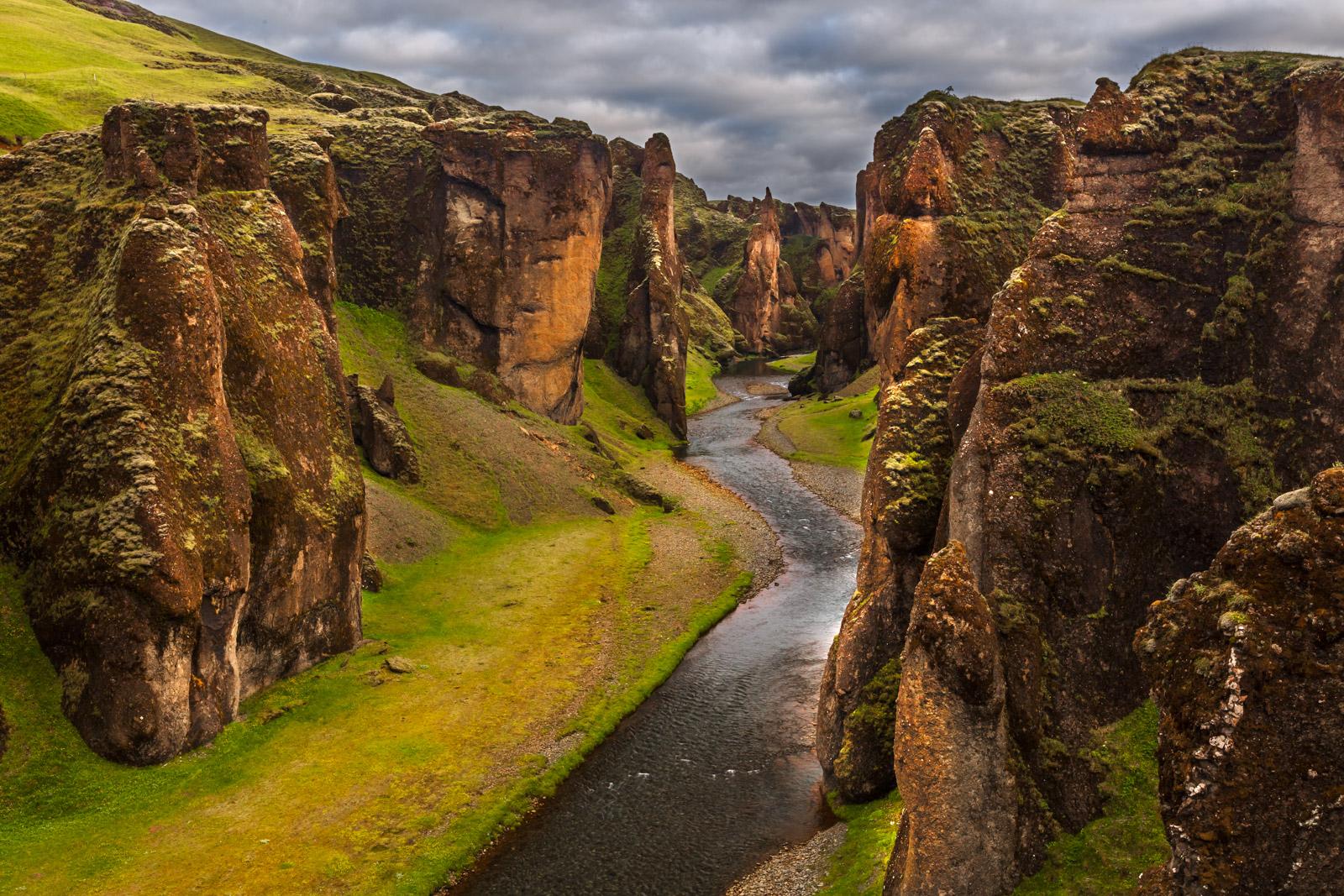 iceland, fjaorargljufur, canyon, limited edition, photograph, fine art, landscape, photo