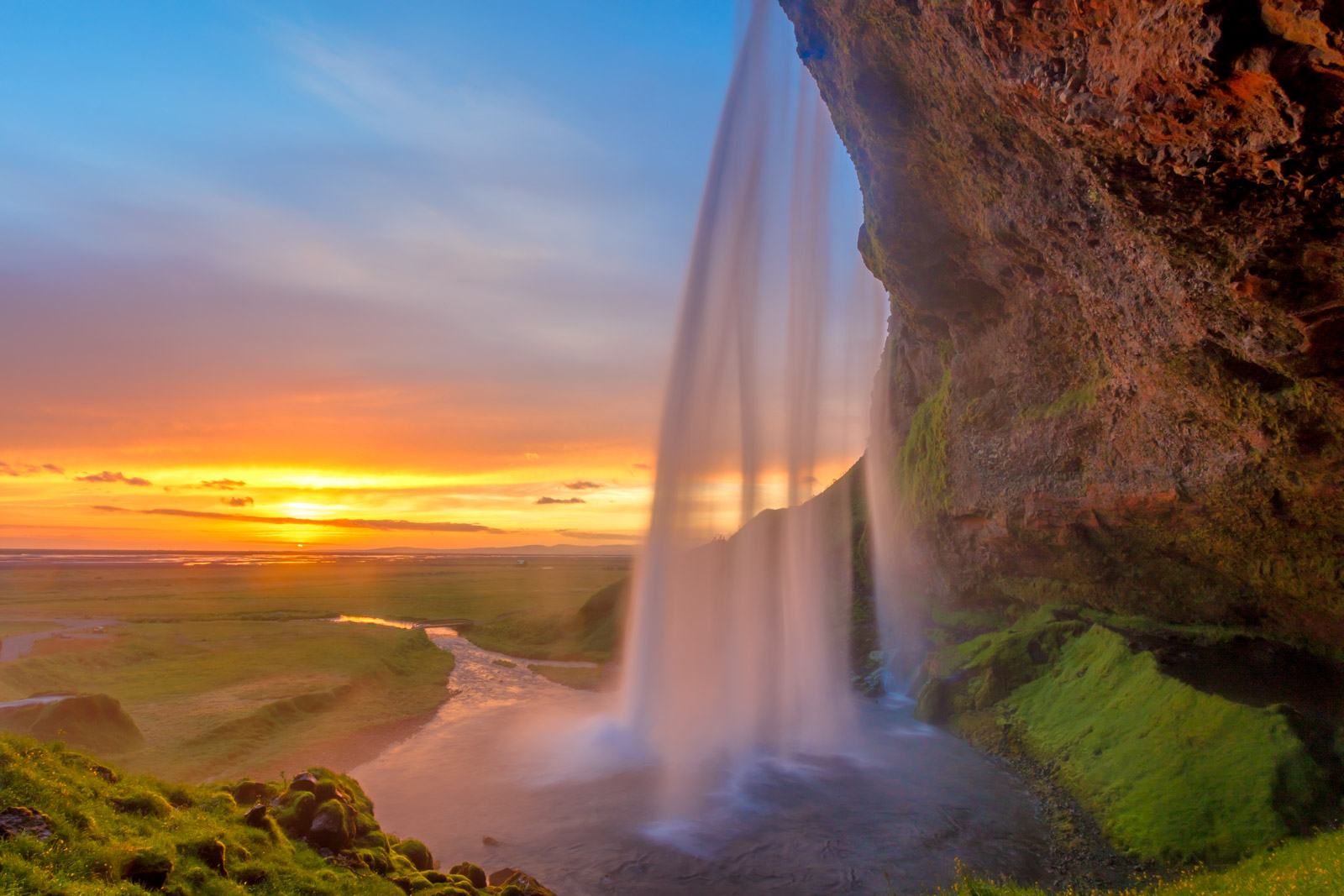 Seljalandsfoss Sunset