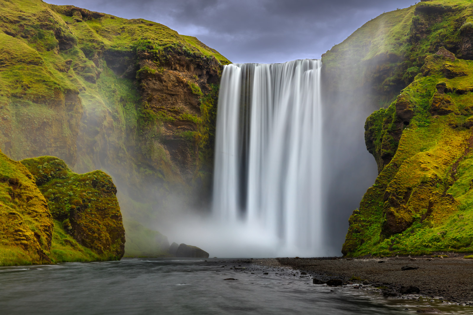 iceland, waterfall, skogafoss, limited edition, photograph, fine art, landscape, photo