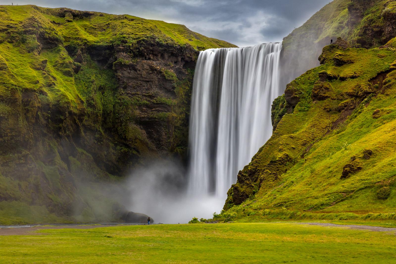 iceland, waterfall, skogafoss, limited edition, photograph, fine art, landscape, photo