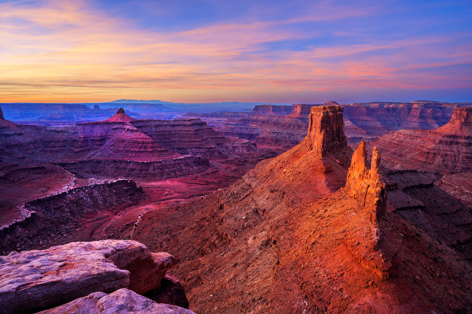 A Limited Edition, Fine Art photograph of a remote canyon in the middle of nowhere in the Desert Southwest in Utah. Available...