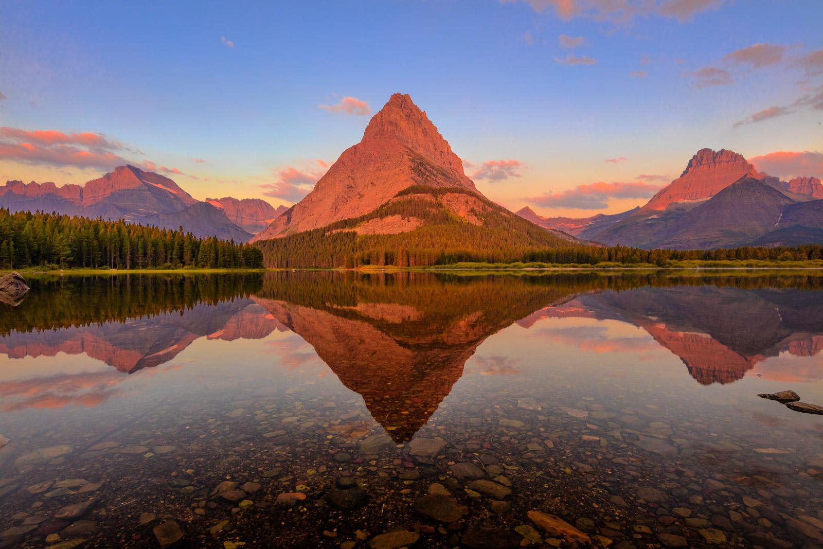 grinnell s glory glacier national park montana fine art