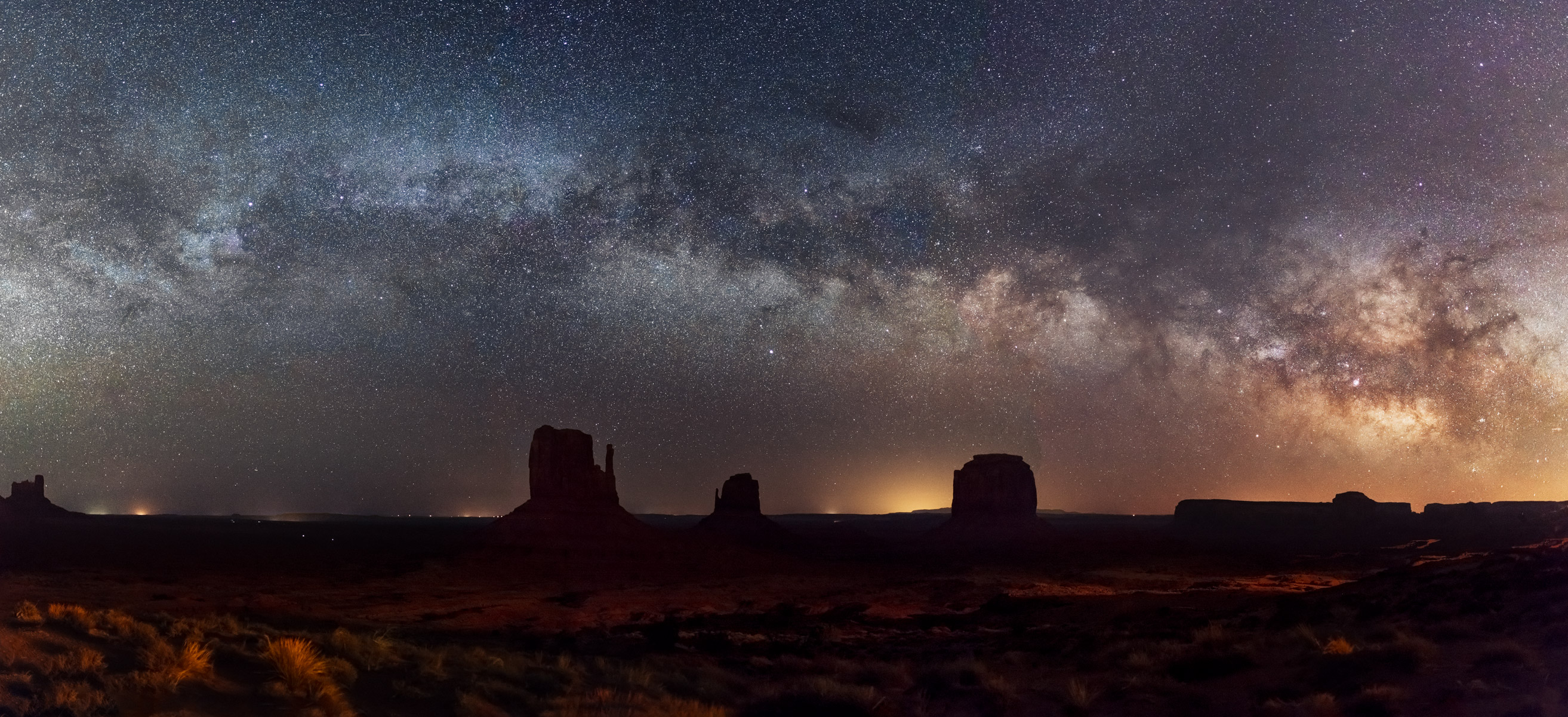 Utah, Monument Valley, Milky Way, photo