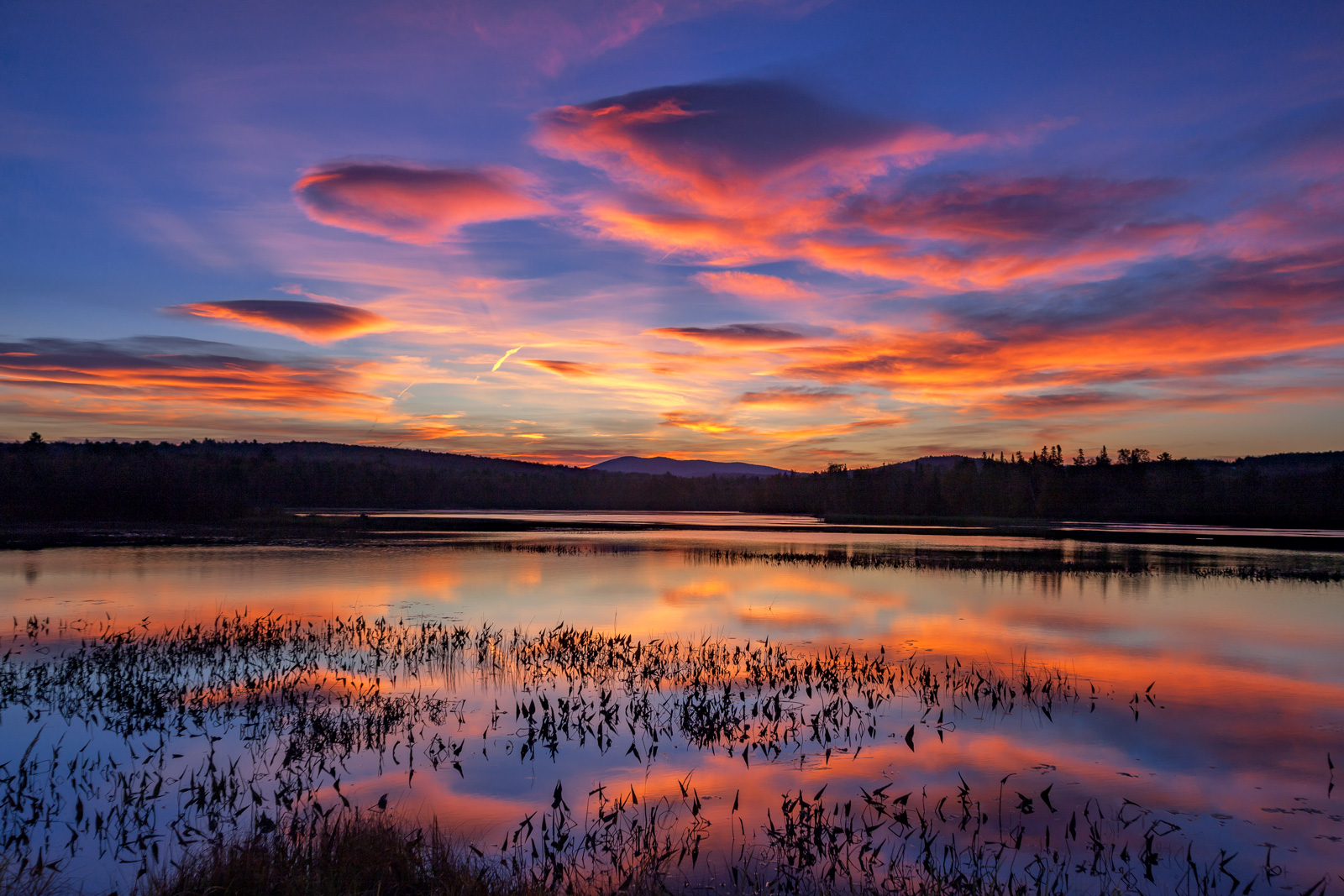 New Hampshire, Sunrise, Androscoggin, River, photo