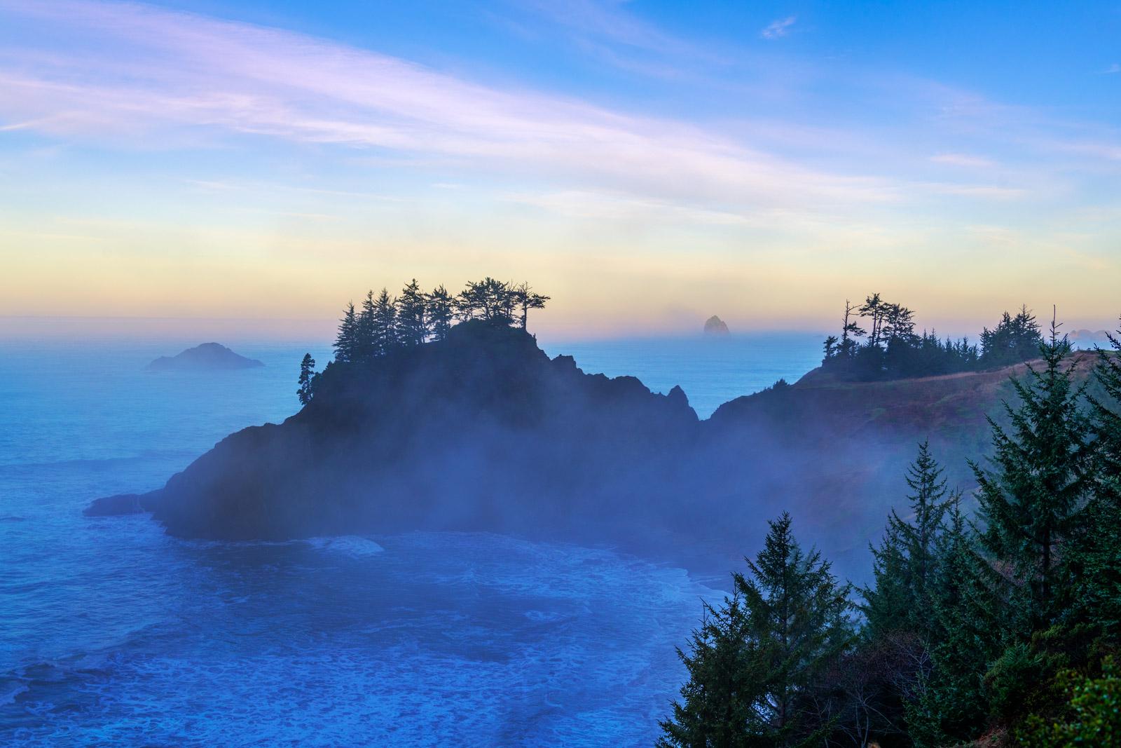 Oregon, Coast, Sea Stacks, Samuel Boardman