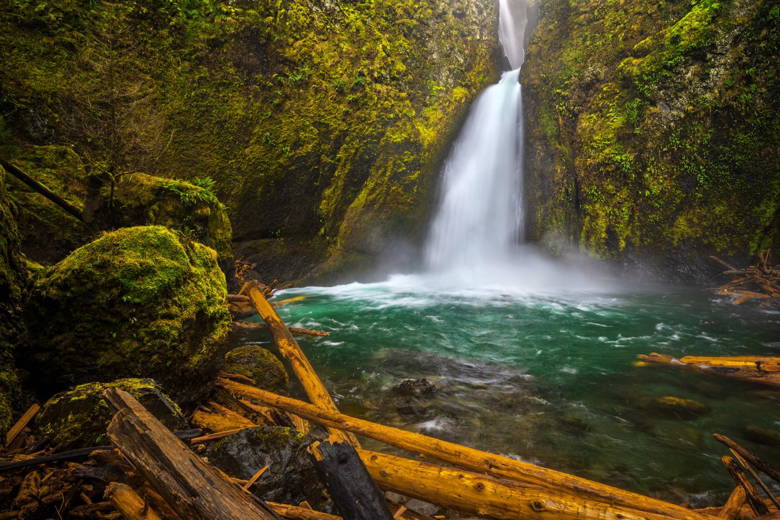 Oregon, Wahclella, Wahclella Falls