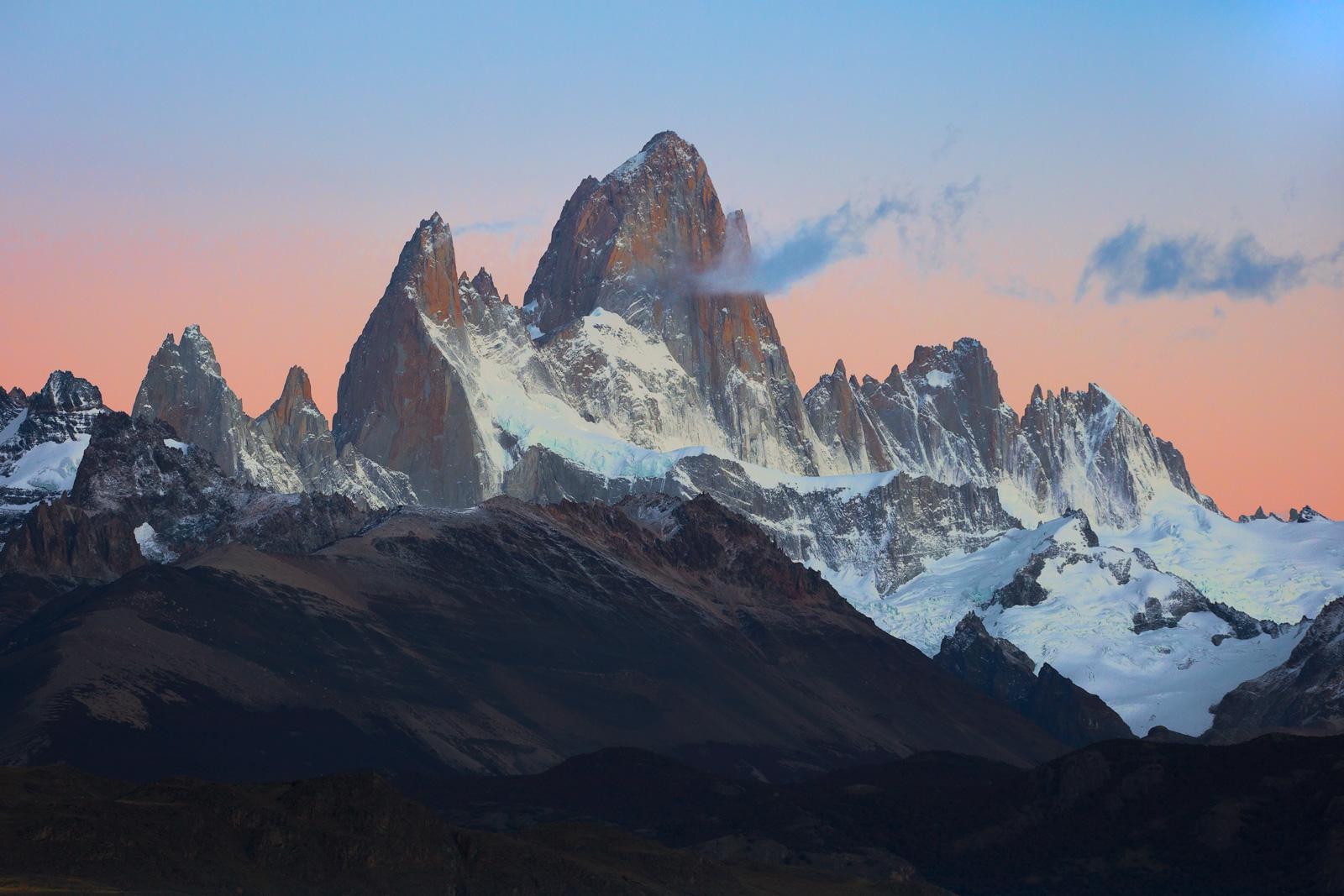 Argentina, Patagonia, Fitz-Roy, Sunrise, fine art, landscape, photo