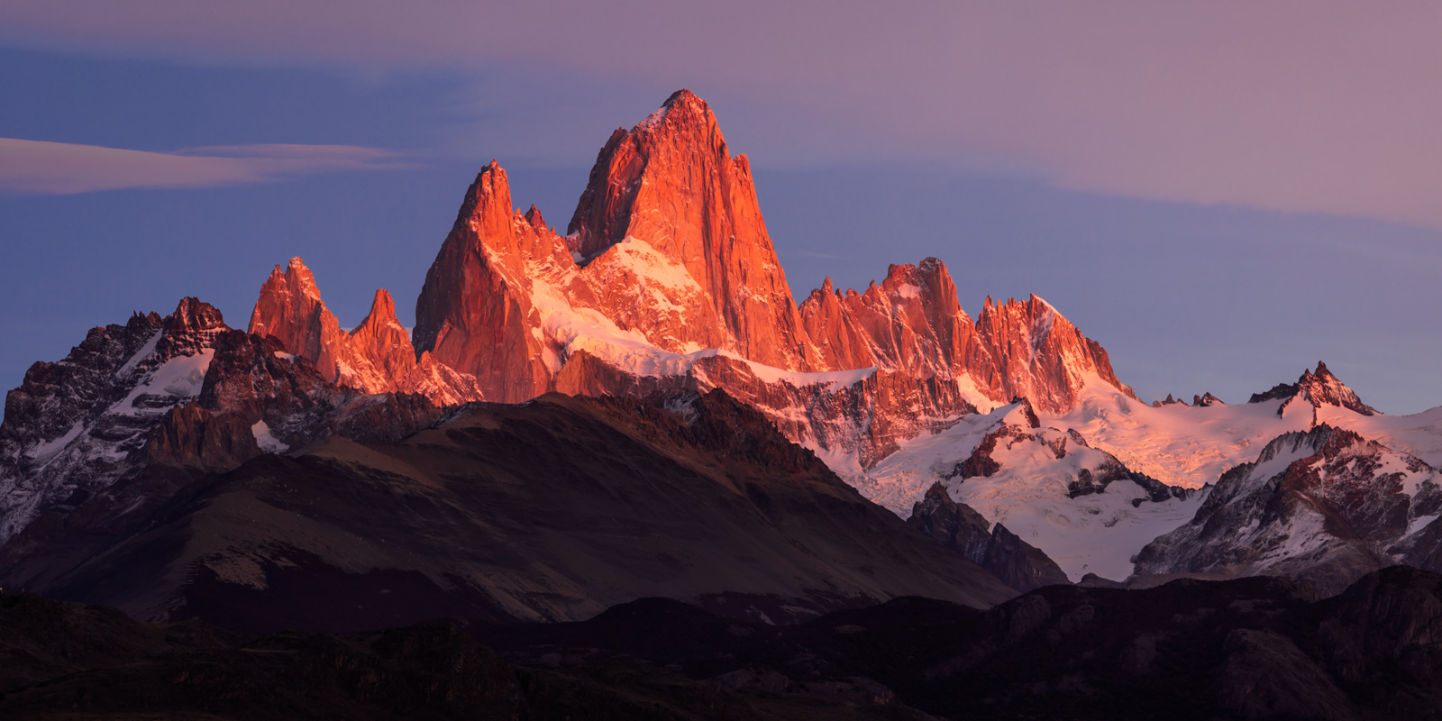 Argentina, Patagonia, Fitz-Roy, Sunrise, limited edition, photograph, fine art, landscape, photo