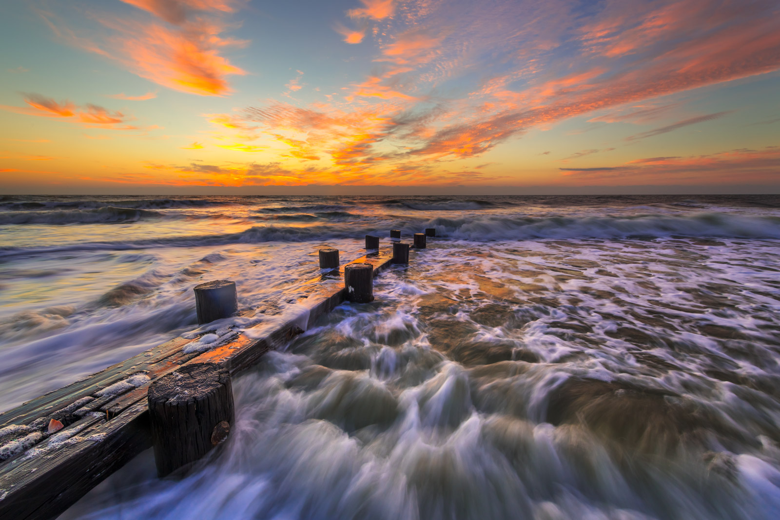 South Carolina, Folly Island, Sunrise, Beach, photo