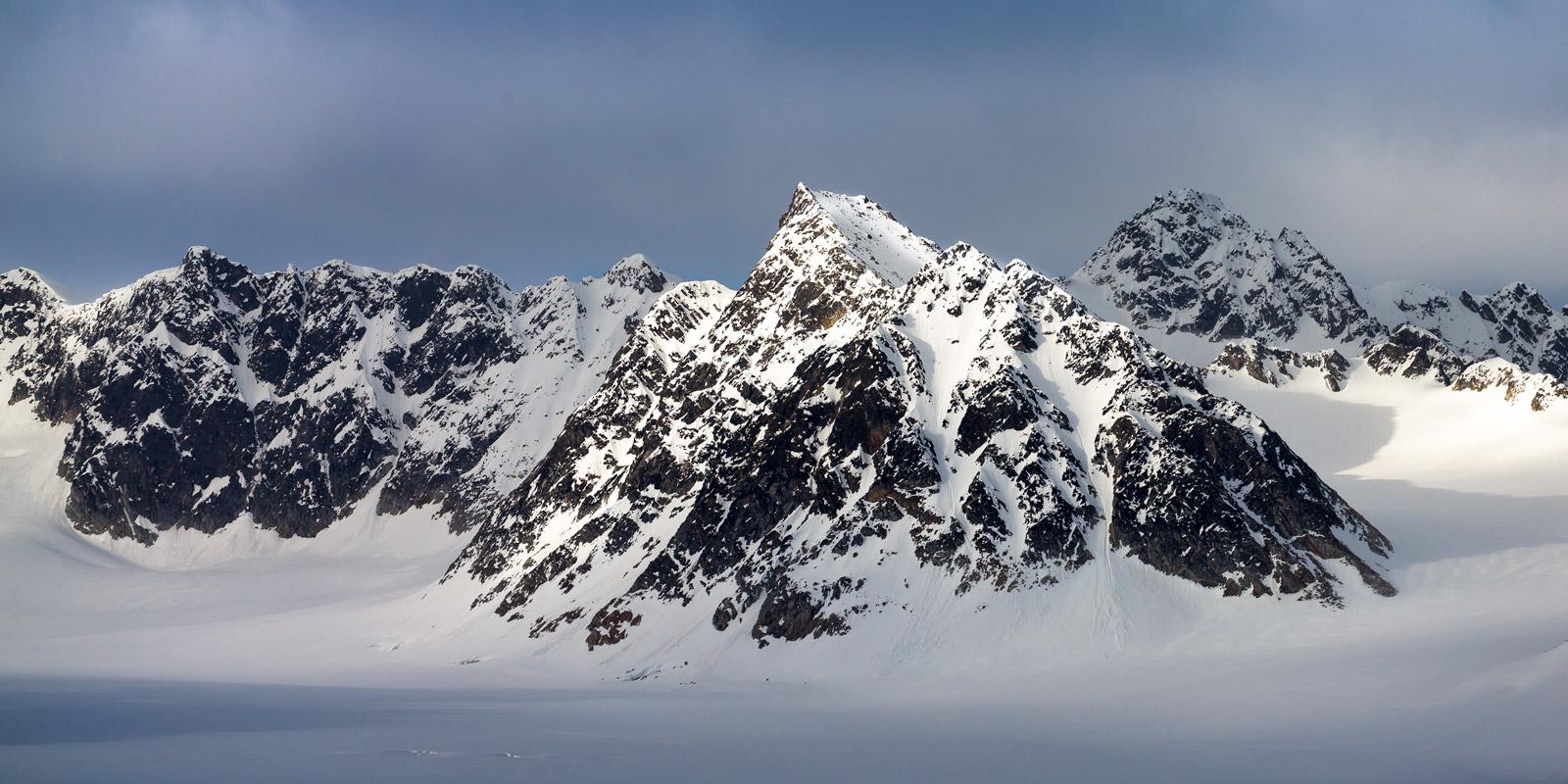 Norway, Spitsbergen, Mountain, Svalbard, photo