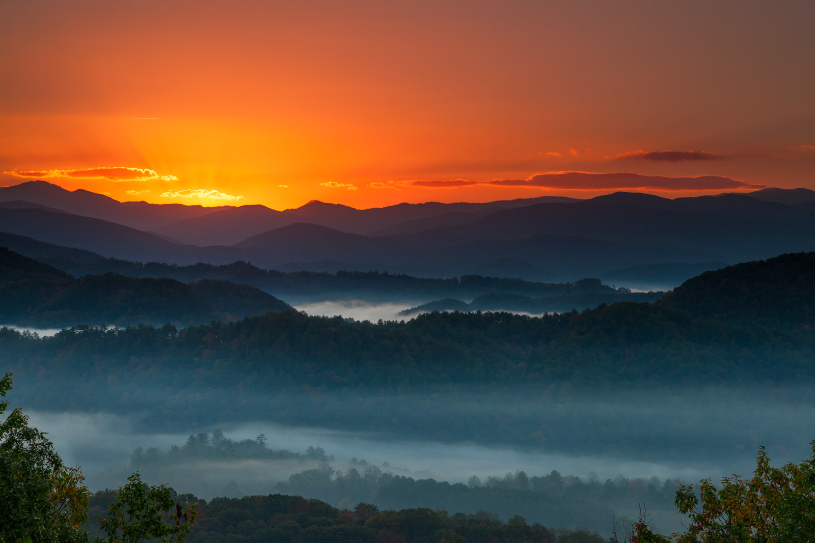Tennessee, Smoky Mountains, Foothills Parkway, Mountain, limited edition, photograph, fine art, landscape, photo