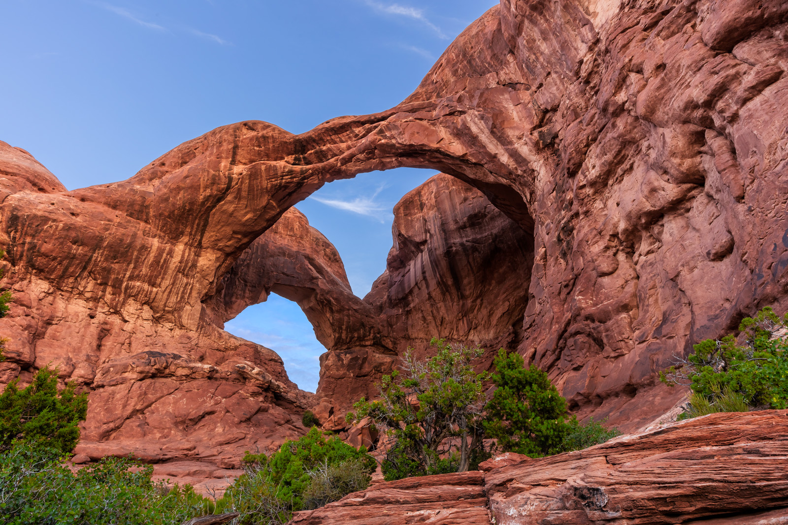 Utah, Arches, National Park, double arch